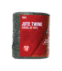 Ace  1/4 in. Dia. x 208 ft. L Green  Twisted  Jute  Twine