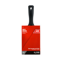 Ace  4 in. W Medium Stiff  Flat  Paint Brush