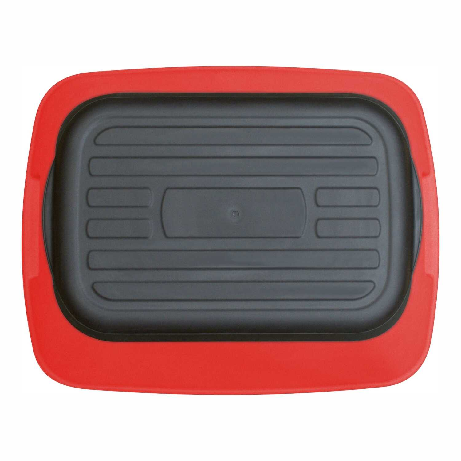 Safe-T-Stool  7.75 in. H x 19.5 in. W 500 lb. capacity One step Plastic  Step Stool
