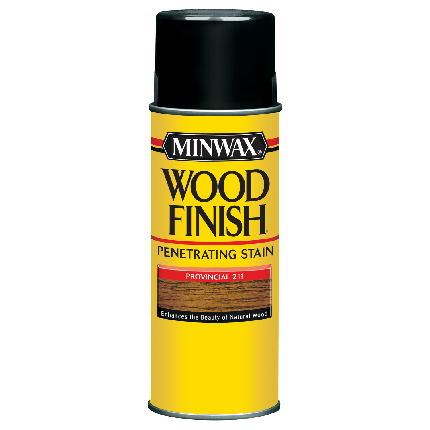Minwax  Wood Finish  Semi-Transparent  Provincial  Oil-Based  Wood Stain  11.5 oz.