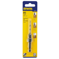 Irwin 11/64 in. Dia. High Speed Steel Countersink 1 pc.