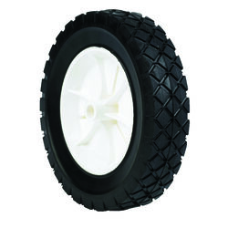 Arnold  1.75 in. W x 8 in. Dia. Plastic  Lawn Mower Replacement Wheel  55 lb.