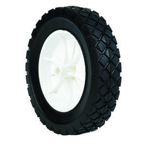 Arnold  1.75 in. W x 8 in. Dia. Lawn Mower Replacement Wheel  55 lb. Plastic