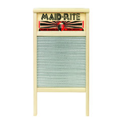 Maid-Rite  12-7/16 in. W x 23.75 in. L Metal Scrub Surface Washboard