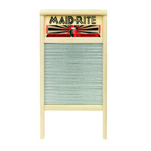 Maid-Rite Washboard 12-7/16 in. x 23-3/4 in. Wood Bulk
