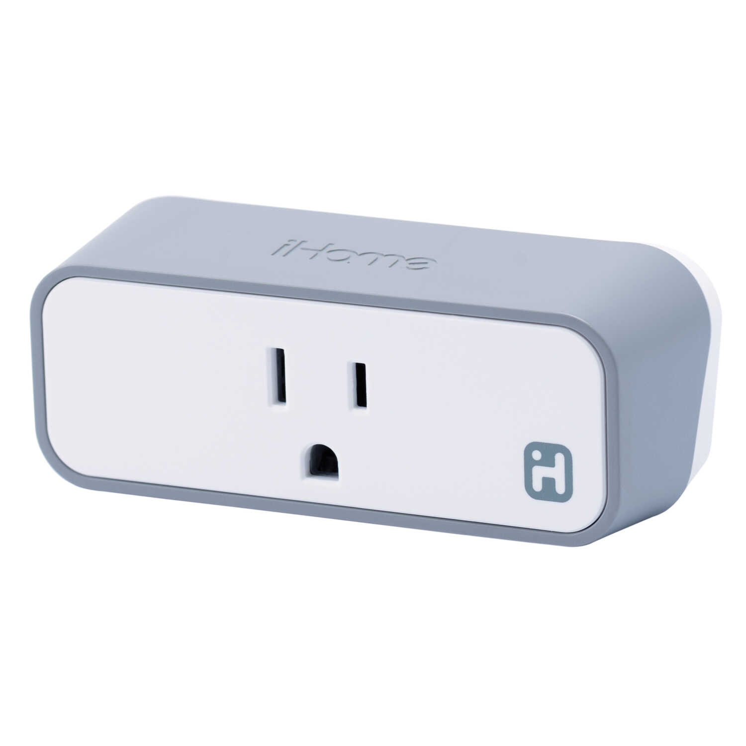 iHome  Commercial, Light Industrial, Residential  Plastic  Smart  Plug  Non-NEMA  White
