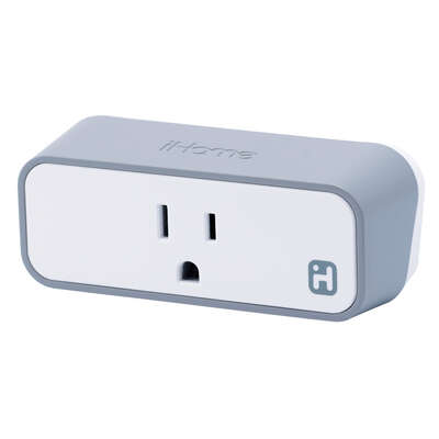 iHome  Commercial, Light Industrial, Residential  Plastic  Smart  Plug  Non-NEMA  Boxed