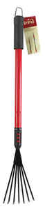 Bond Manufacturing  18 in. L x 4.72 in. W Steel  Telescopic Rake