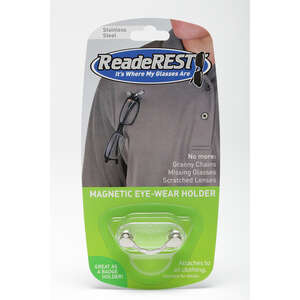 Readerest  Shark Tank  As Seen On TV  Eye Wear Holder  Steel  1 pk
