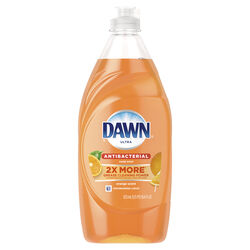 Dawn  Ultra  Orange Scent Liquid  Dish Soap  19.4 oz.