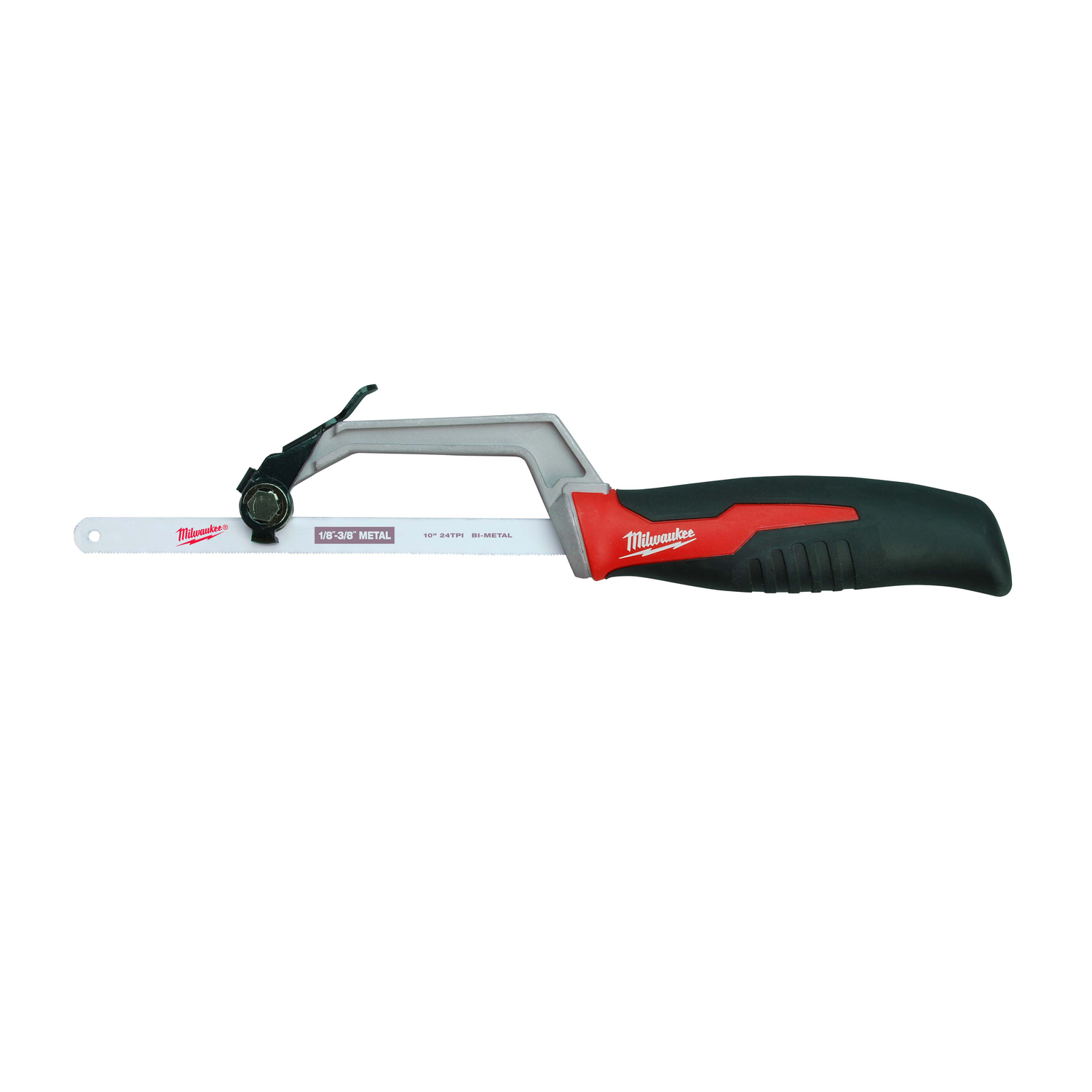 Milwaukee  10 in. Bi-Metal  Compact  14 TPI 1 pc. Hand Saw
