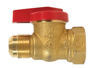 B & K  Brass  Threaded  Gas Ball Valve