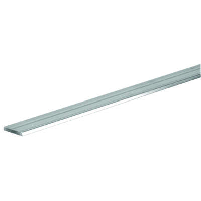 Boltmaster  0.125 in.  x 1.5 in. W x 6 ft. L Weldable Aluminum Flat Bar  1 pk