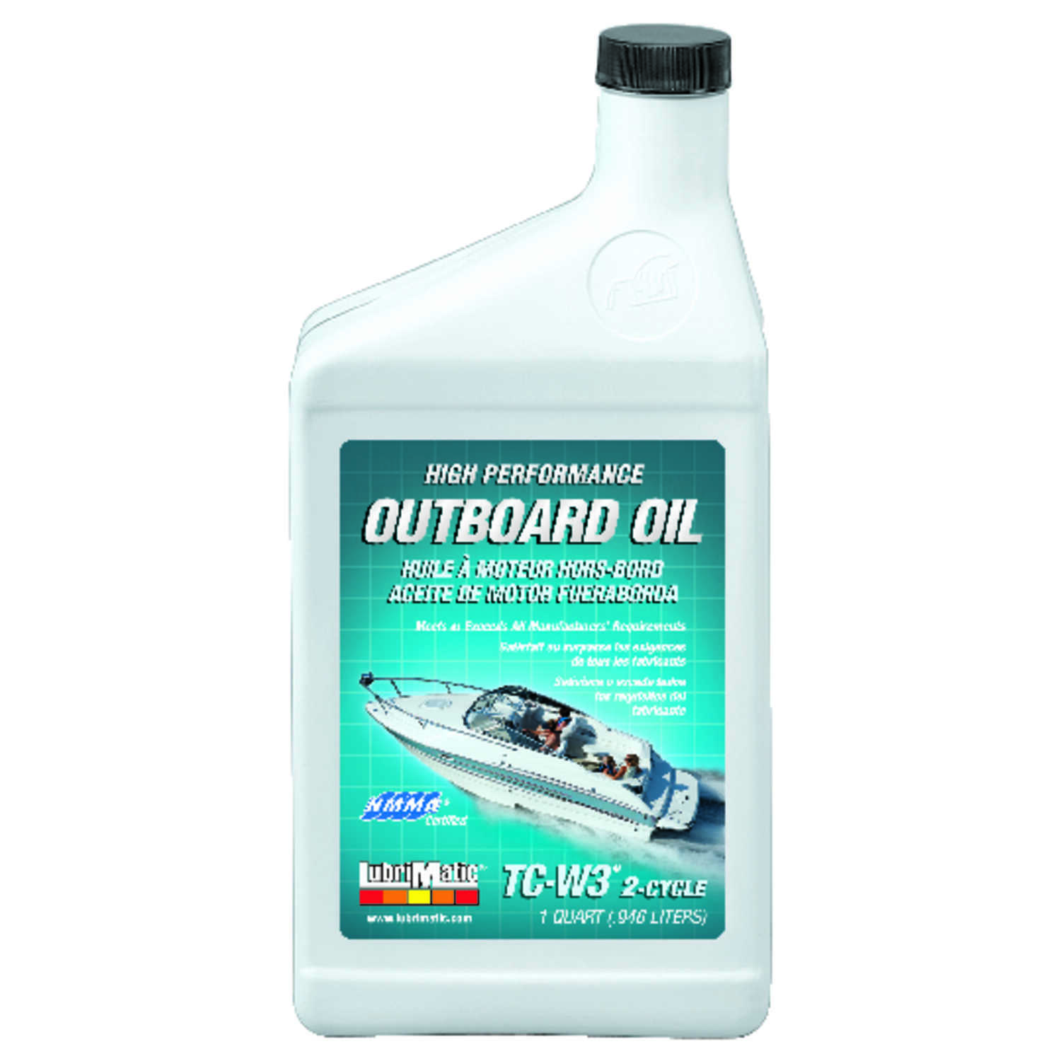 Lubrimatic  TC-W3  2 Cycle Engine  Motor Oil  1 qt.