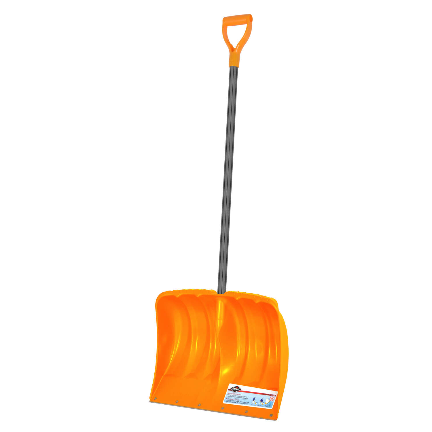 Garant  19 in. W Poly  Snow Shovel