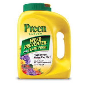 Preen  Granules  Weed Preventer Plus Plant Food  5.625 lb.