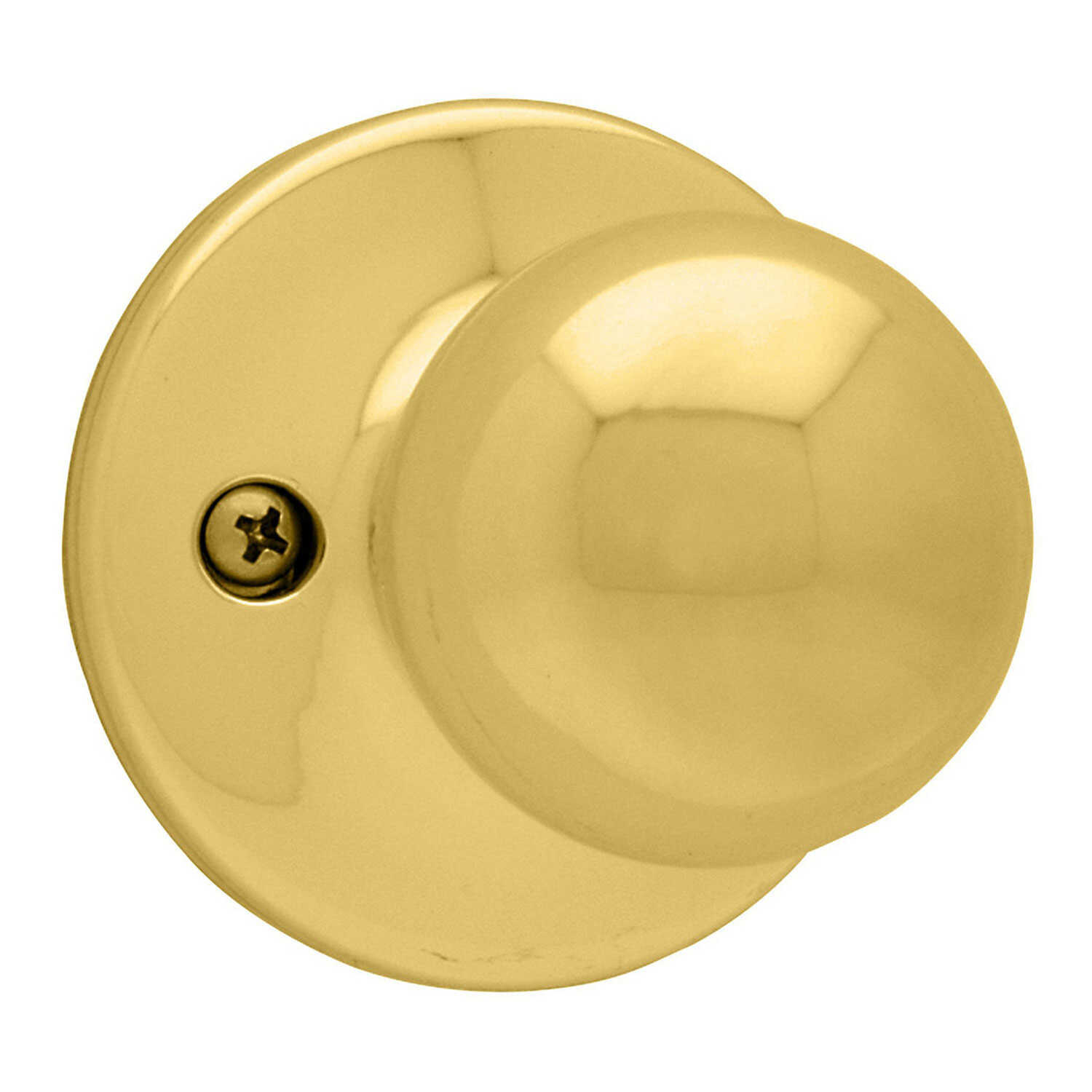 Kwikset  Polo  Polished Brass  Steel  Dummy Knob  3 Grade Right or Left Handed
