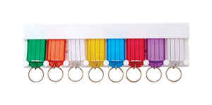 Hy-Ko  2GO  Assorted  Plastic  Key Rack