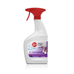 Hoover No Scent Pet Stain and Odor Remover 22 oz. Liquid