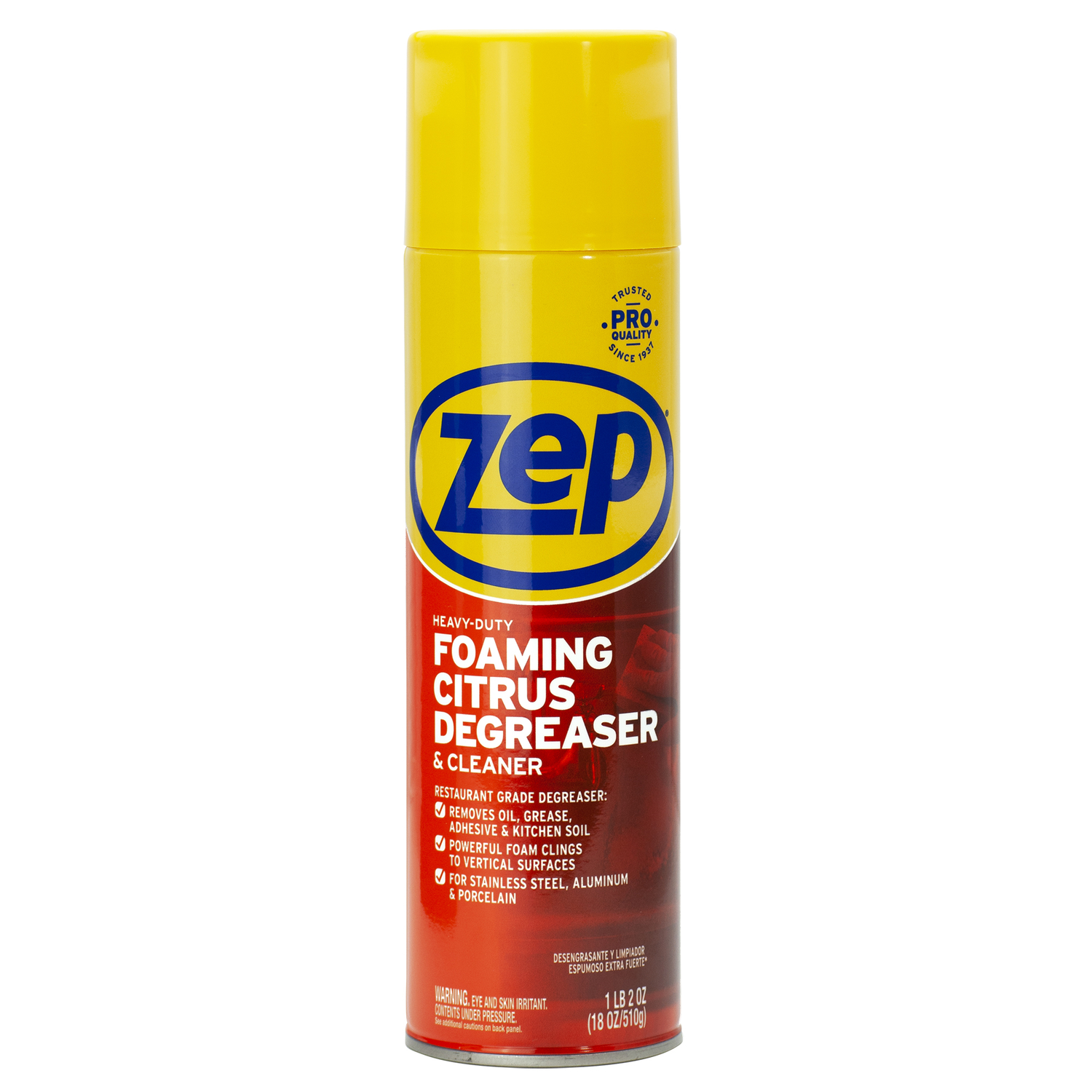 Zep  Citrus Scent Heavy Duty Degreaser  18 oz. Liquid