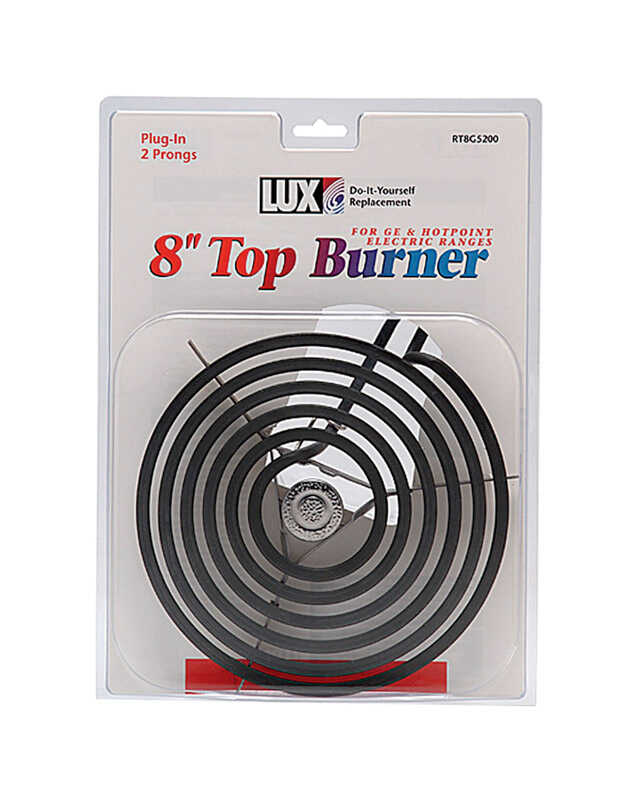 Lux  Chrome  Plug-In Top Burner