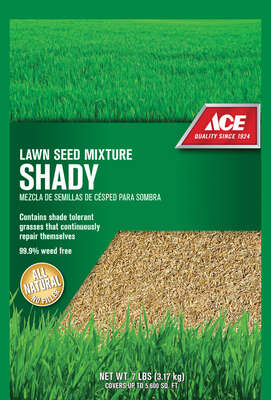 Ace Mixed Shade Lawn Seed Mixture 7 lb.