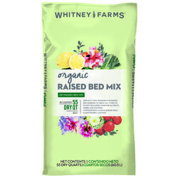 Whitney Farms Organic Fruit and Vegetable Raised Bed Mix 1.5 cu. ft.
