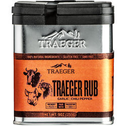 Traeger  Garlic and Chili Pepper  Seasoning Rub  9 oz.