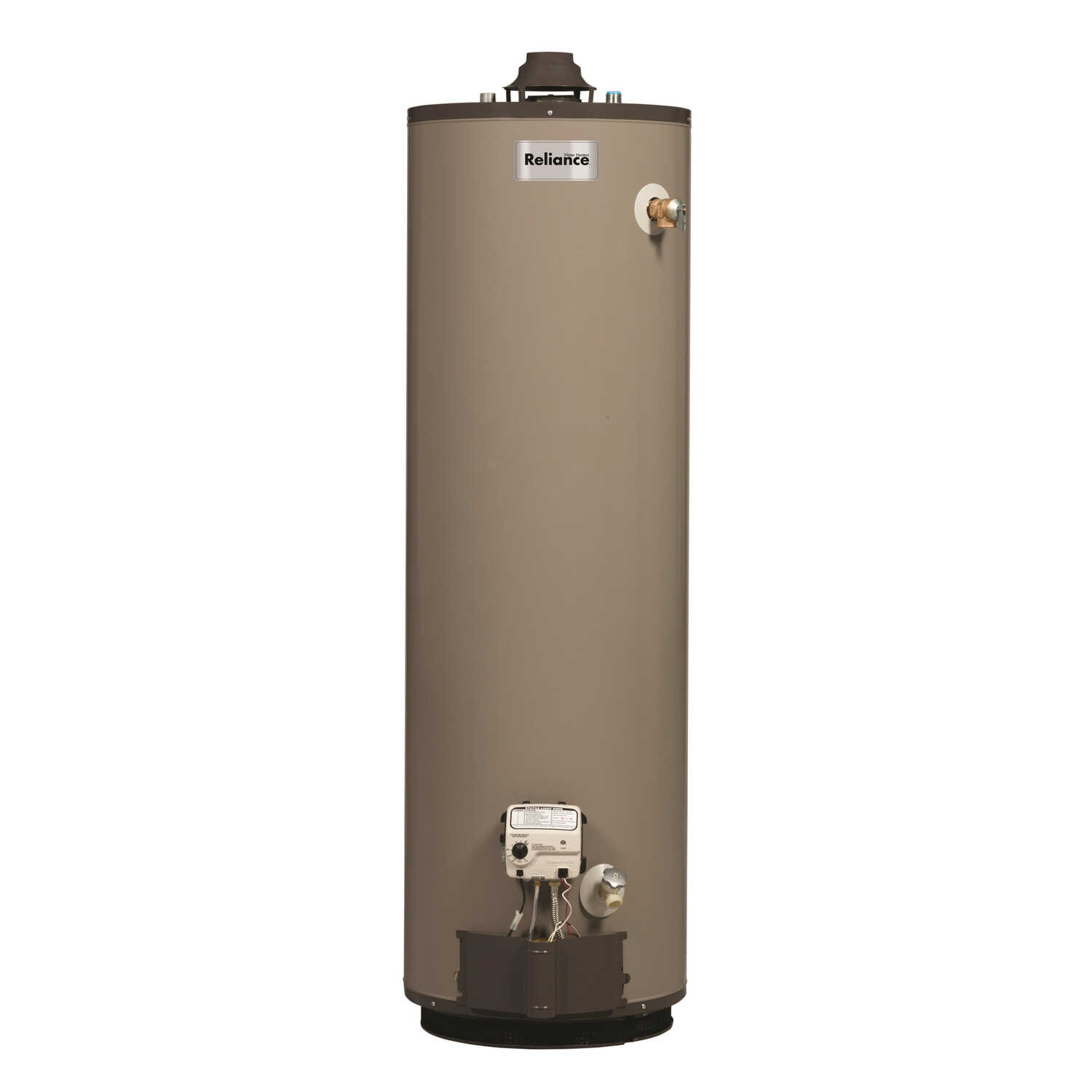 Reliance  Propane  Water Heater  62 in. H x 20 in. L x 20 in. W 40 gal.
