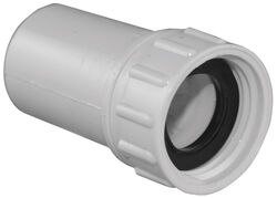 Lasco  Schedule 40  1/2 in. FHT   x 3/4 in. Dia. Slip  PVC  Swivel Hose Adapter