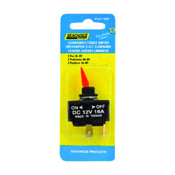 Seachoice Illuminated Toggle Switch Plastic