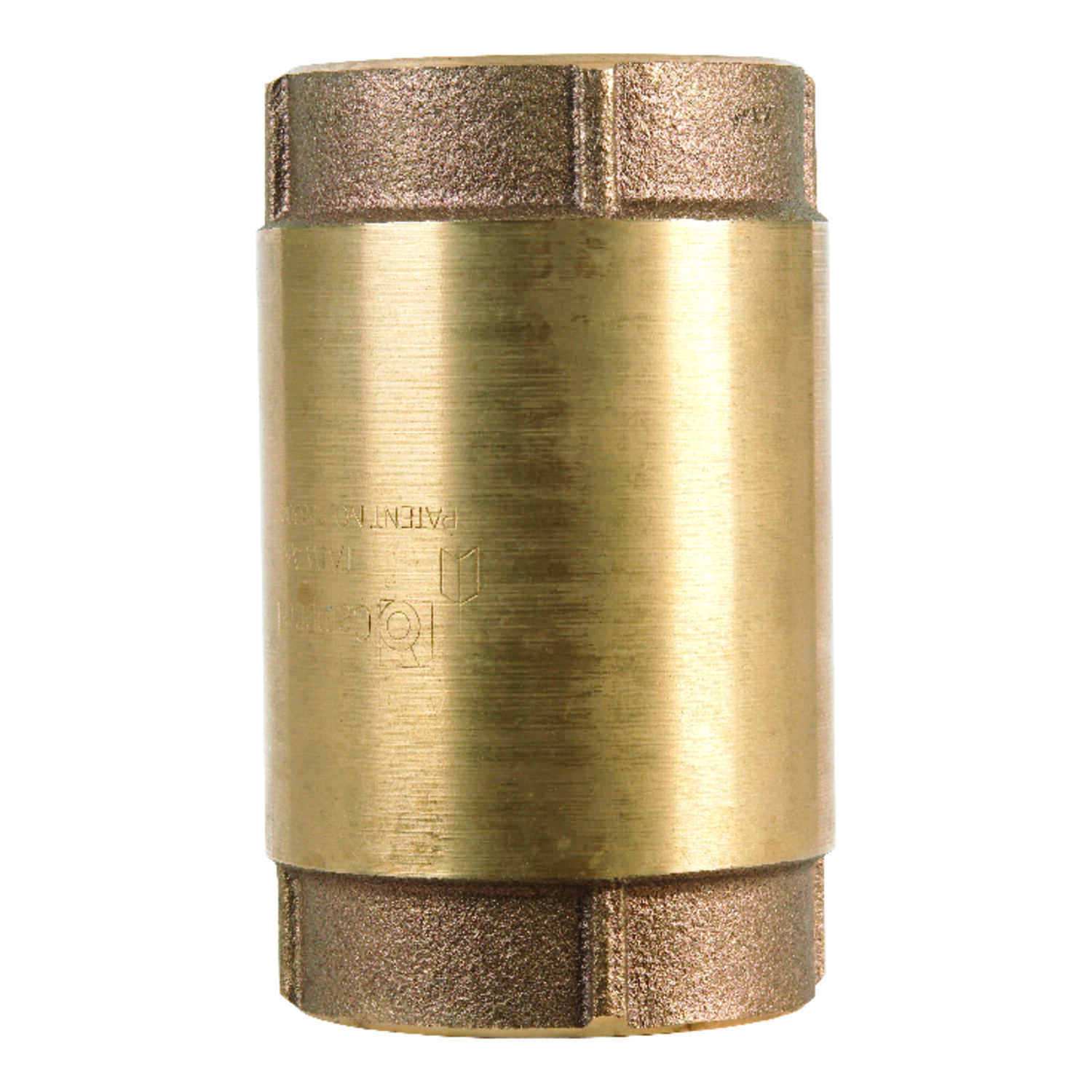 Campbell  2 in. 2 in. FIP X 2 in. FIP  Red Brass  Spring  Check Valve