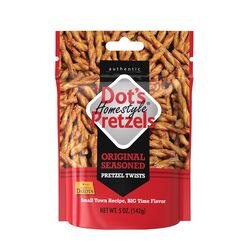 Dot's Pretzels Homestyle Original Pretzels 5 oz. Bagged