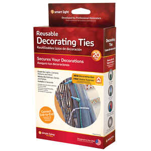 Simple Living  Smart Light  Decorating Ties  PVC  20 count
