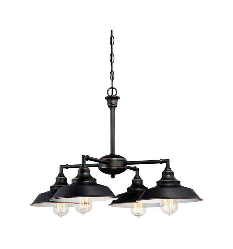 Westinghouse  Oil Rubbed Bronze  Brown  Chandelier  4