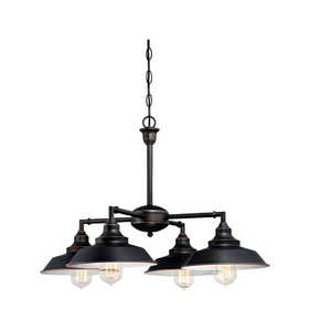 Westinghouse  Oil Rubbed Bronze  4 lights Chandelier  Brown