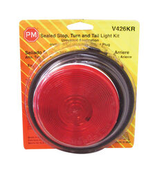 Peterson  Red  Round  Stop/Tail/Turn  Light Kit