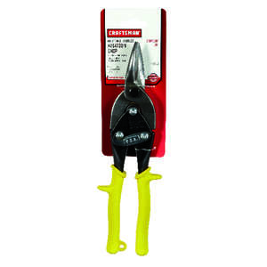Craftsman  10 in. Stainless Steel  Straight  Aviation Snips  18 Ga. 1 pk