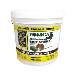 Motomco  Tomcat  Bait  Blocks  For Mice and Rats 9 lb.