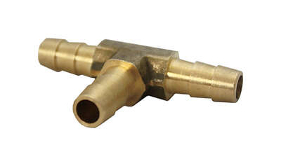 JMF  Brass  5/16 in. Dia. x 5/16 in. Dia. Tee Connector  1 pk