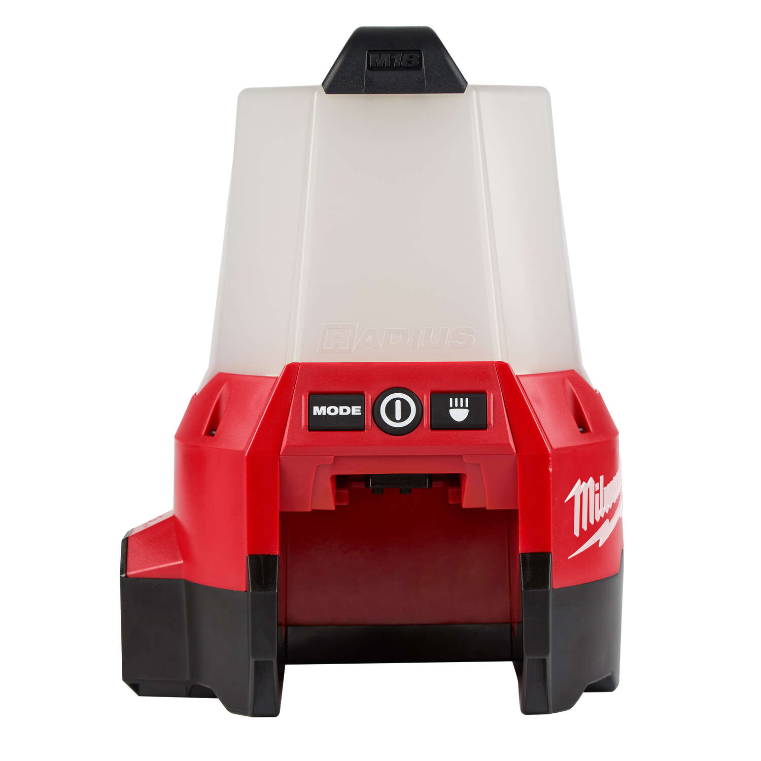 Milwaukee  Radius  2200 lumens LED  Battery Operated  Stand (H or Scissor)  Work Light