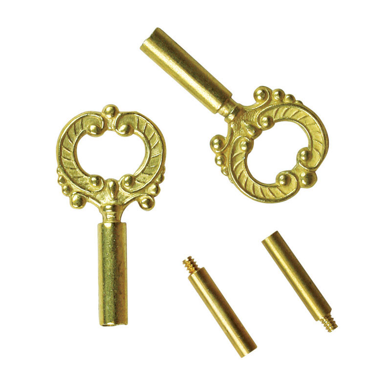 Jandorf  Brass  Socket Keys  2 pk