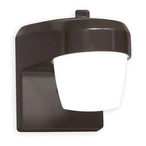 All-Pro  Bronze  Dusk to Dawn  LED  Jelly Jar Light w/Photocell