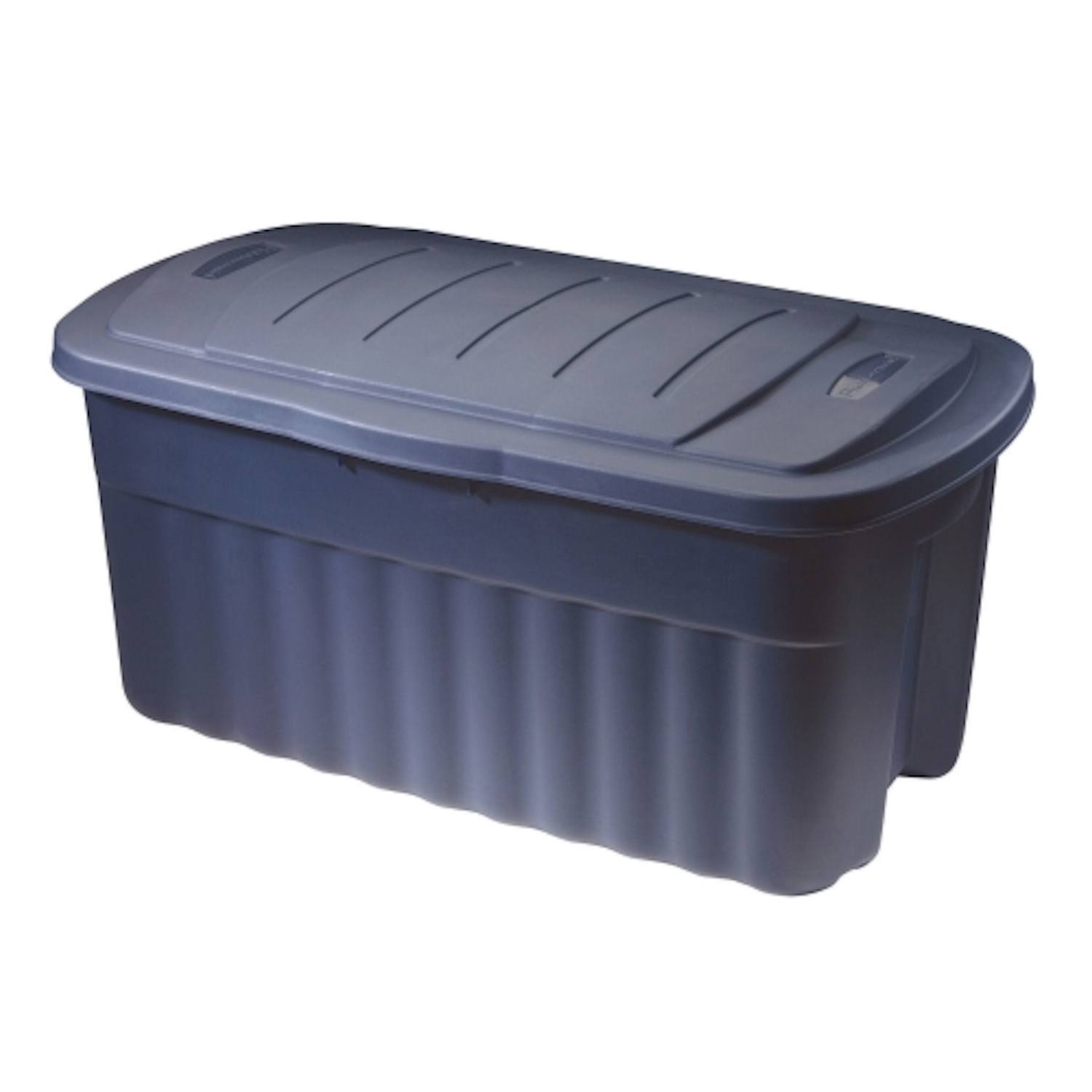 Rubbermaid  Roughneck  21.3 in. H x 36.9 in. D x 18.3 in. W Stackable Storage Box
