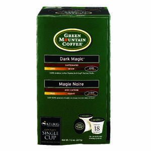 Keurig  Green Mountain  Dark Magic Extra Bold  Coffee K-Cups  18 pk