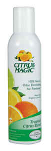 Citrus Magic  Tropical Citrus Scent Air Freshener Spray  6 oz. Aerosol