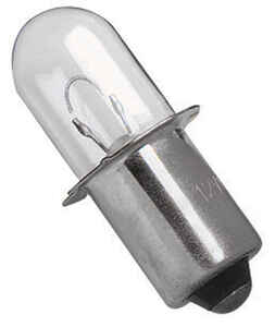 DeWalt  Xenon  Flashlight Bulb  18 volt Pin/Plug-In Base