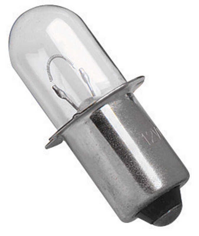 DeWalt  Xenon  Flashlight Bulb  18  Pin/Plug-In Base