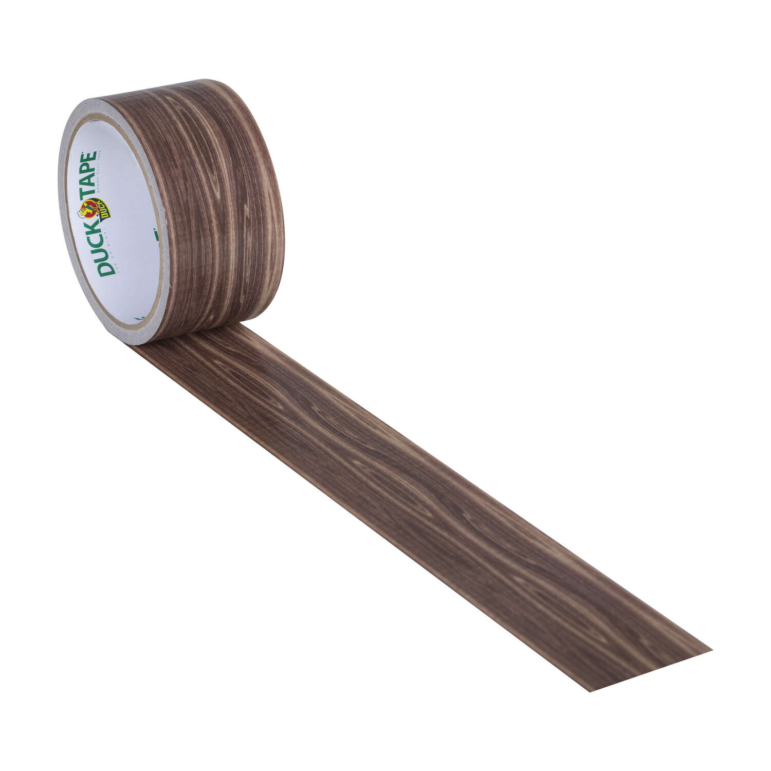 Duck Brand  30 ft. L x 1.88 in. W Brown  Woodgrain  Duct Tape