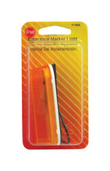 Peterson  Amber  Oblong  Clearance/Side Marker  Light